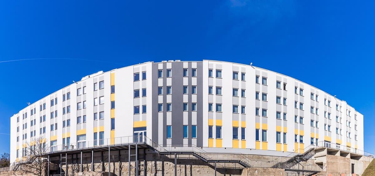 Hotel panoramicznie